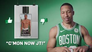 👍or 👎for jayson tatum's fragrance | wingin' it with jetblue