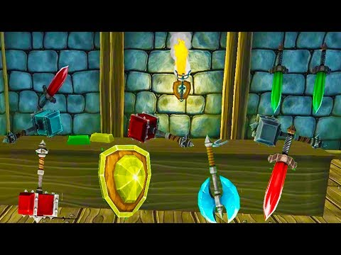 OUR EPIC WEAPONSMITH SHOP! Diamond and Blood Stone Weapons!? - Hammerhelm Alpha Gameplay