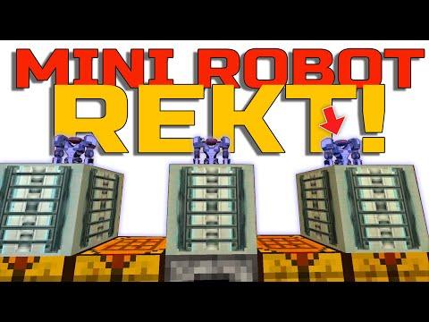 Robot Don't Nuke My House! Minecraft Very Funny!