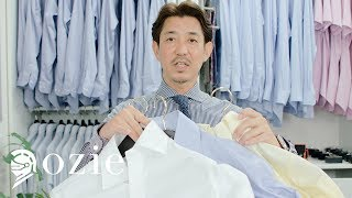 形態安定シャツの基礎知識|シャツの専門店 ozie