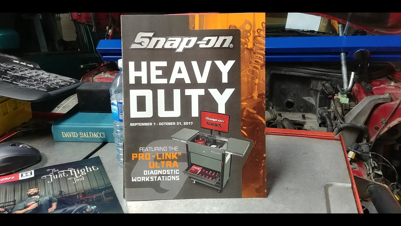 Snap-on September-October Supplemental Tool Flyer The Heavy Duty Edition