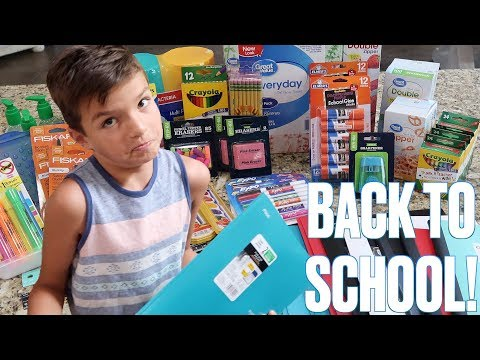 BACK TO SCHOOL SHOPPING | BACK TO SCHOOL SUPPLIES AND UNIFORMS | BACK TO SCHOOL CLOTHES AND SUPPLIES