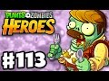 Overstuffed Zombie! - Plants vs. Zombies: Heroes - Gameplay Walkthrough Part 113 (iOS, Android)