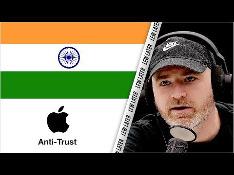 Antitrust Case Hits Apple In India...