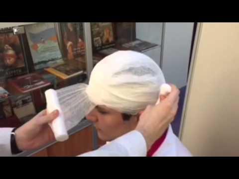 Hippocrates cap-type bandage