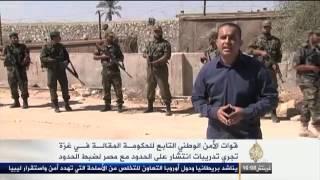 حماس تنشر قوات أمنية على حدودها مع مصر
