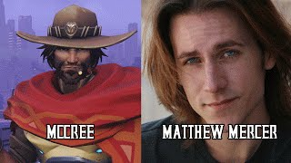 Characters and Voice Actors - Overwatch