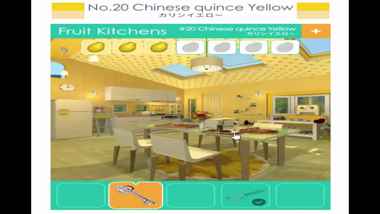 Fruit Kitchen 20 Chinese quince yellow Walkthrough (Funkyland ...