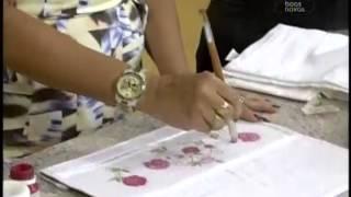 Artesanato – Decoupagem em tecido