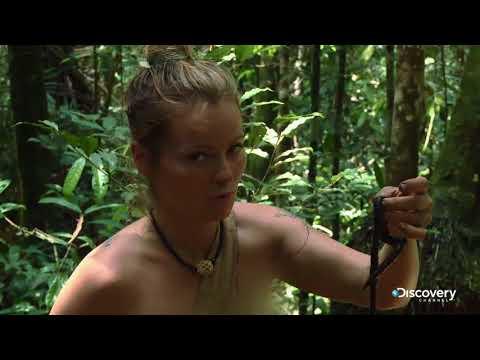 Как ебут выжить голым дискавери без цензуры красивую киску член