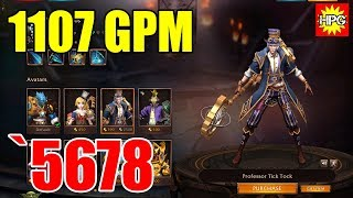 HoN Chronos Professor Tick Tock Gameplay - `5678 - Immortal - Casual Mode