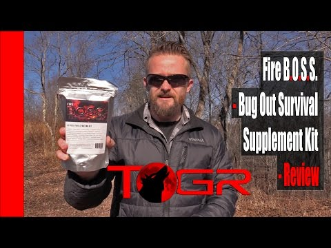 Bushcraft Fire Kit – Fire B.O.S.S. – Bug Out Survival Supplement Kit – Review