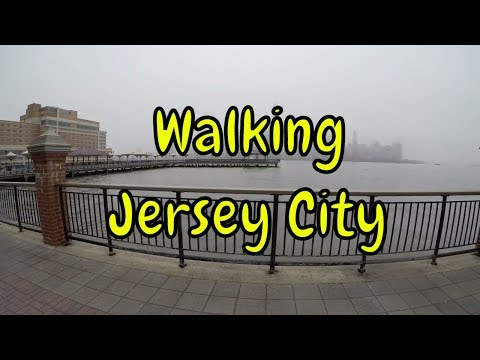 ⁴ᴷ Walking Tour of Hoboken Terminal, Newport, Downtown Jersey City, Exchange Place - New Jersey