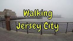 ⁴ᴷ Walking Tour of Hoboken Terminal, Newport, Downtown Jersey City, Exchange Place - New Jersey