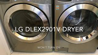 LG Electric Dryer Thermal Fuse Replacement #6931EL3003D