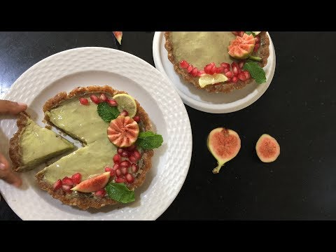 Avocado Mousse Tart | No Bake Gluten Free Tartlets