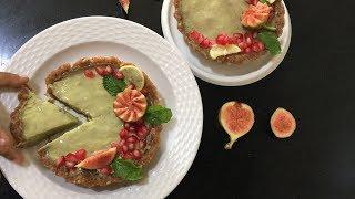 Avocado Mousse Tart | No Bake Gluten Free Tartlets