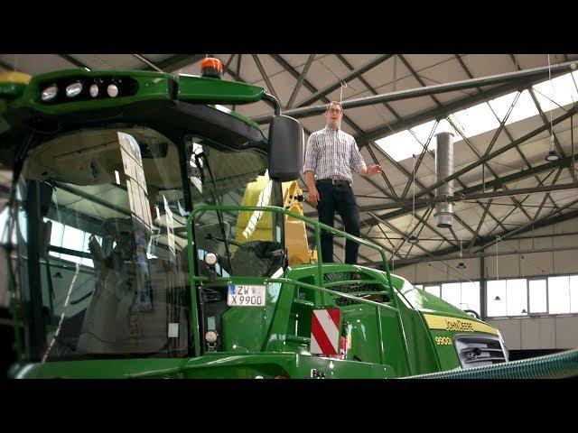 Serie 9000 - Soluzioni gestionali agricole - Panoramica - Trince John Deere