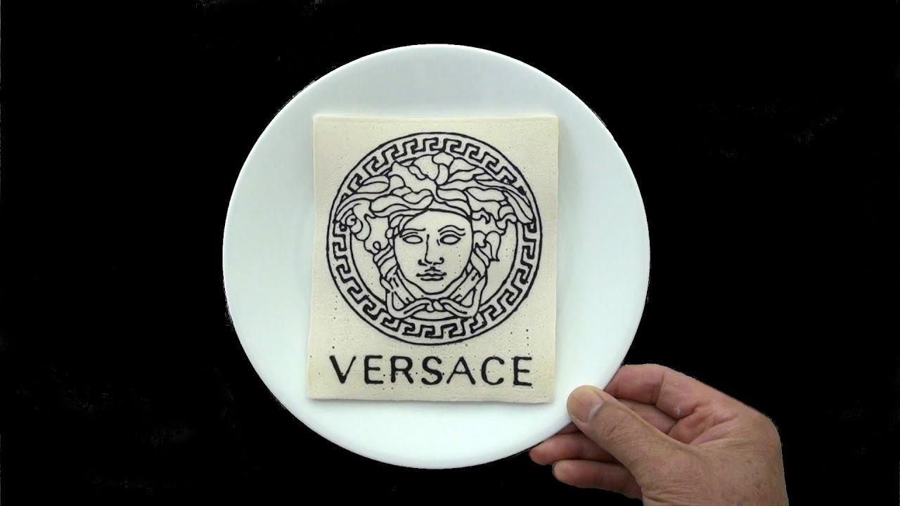Making $1000 Versace Pancake!