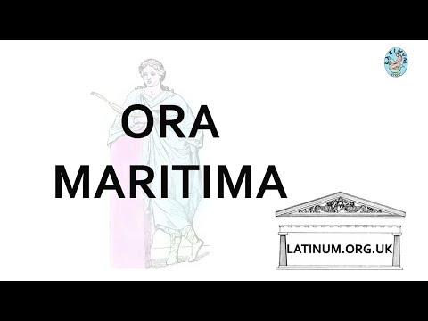 Ora Maritima Sonnenschein's Story told in simple Latin read by der Millner