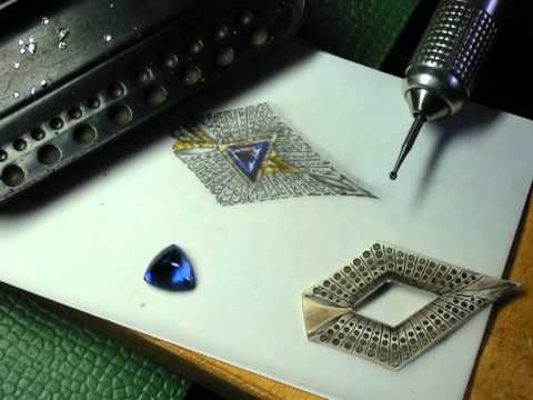 Jewelry making by master Riccardo Mazzantini