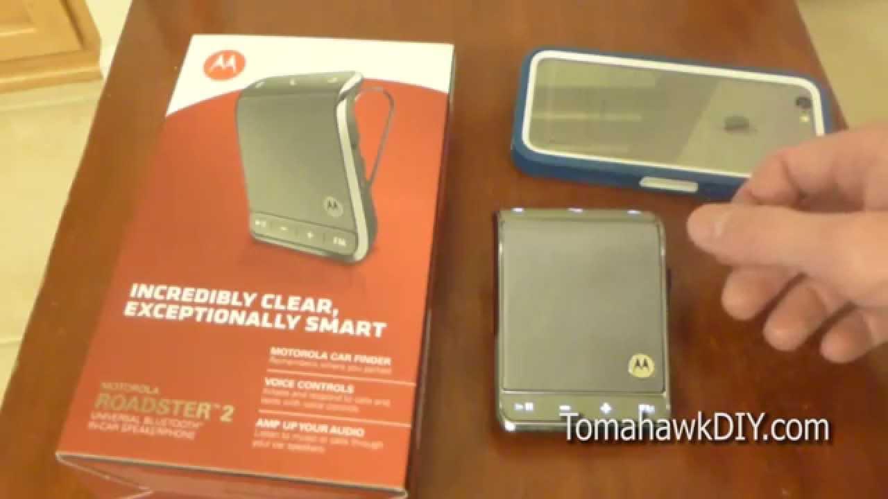Motorola roadster 2 manuals.