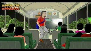 kartun lucu ep. 11 - Bus Setan
