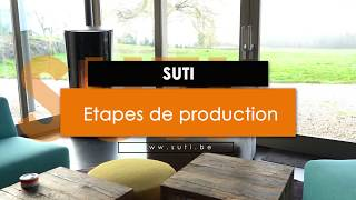 Production des poêles à pellets SÛTI Design & Utility