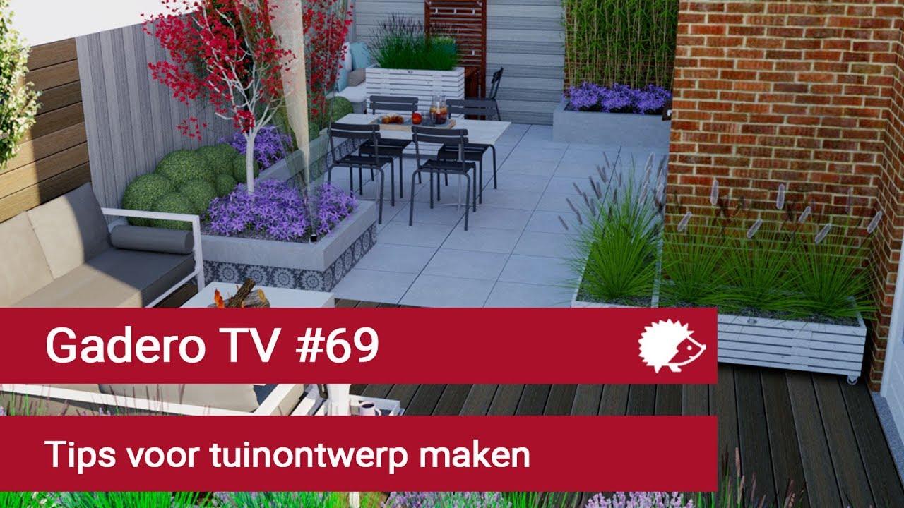 69 tips voor tuinontwerp maken youtube