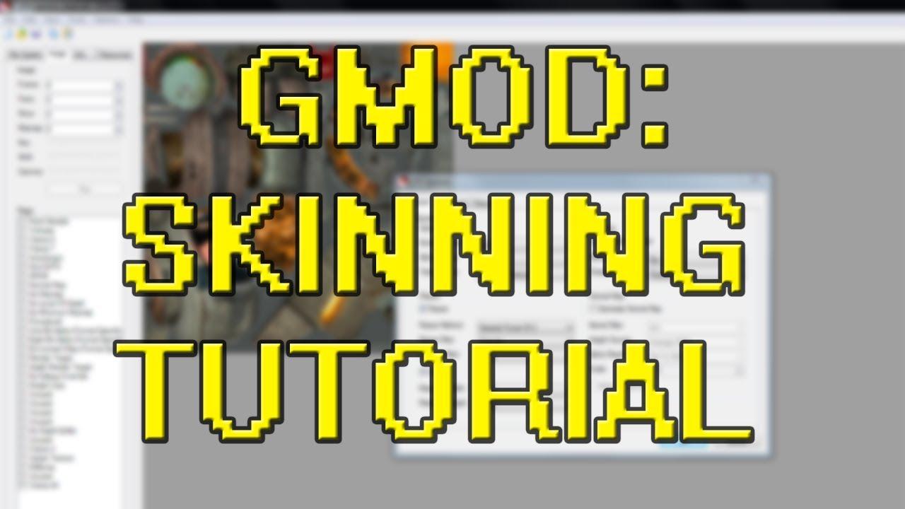 How To Make Custom GMod Weapon Skins [UPDATED]