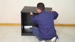 Lateral file Cabinet Installation video