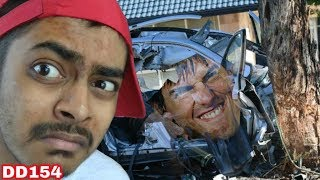 Impossible Mega Ramp 3D car stunts and crash gameplay #game DD154
