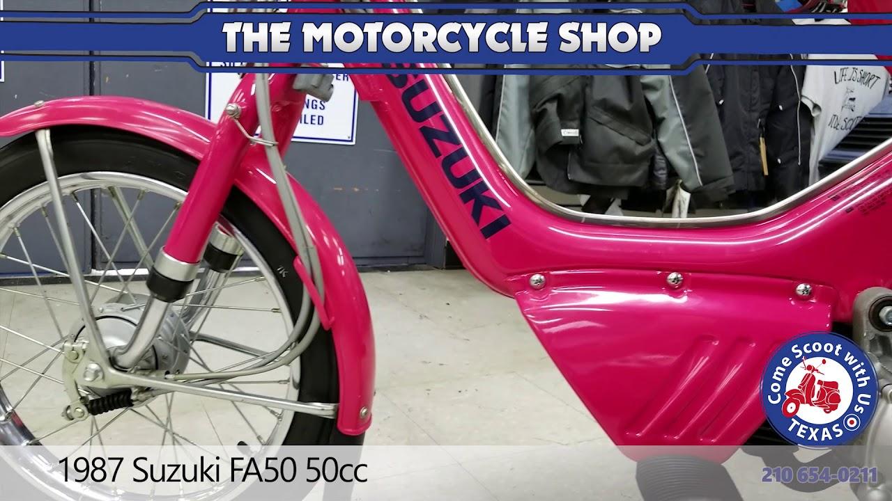 1987 suzuki fa50 50cc moped for sale - YouTube