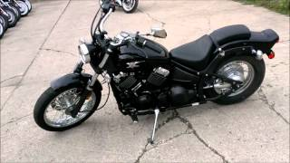 2007 yamaha vstar 650 cruiser motorcycle for sale