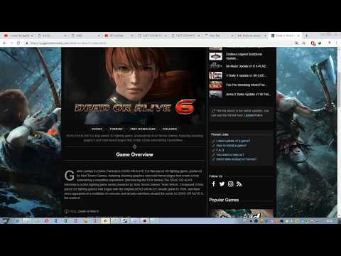 Download Dead Or Alive 6 For Free Torrent For Pc
