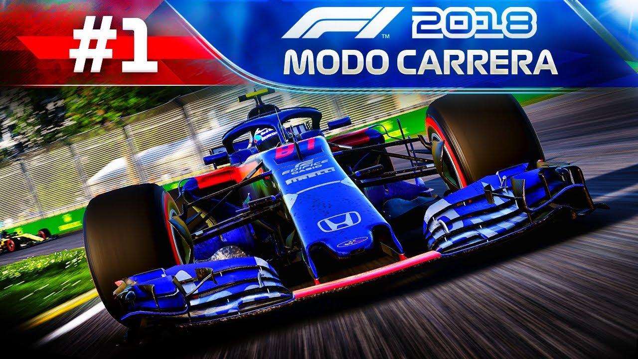 478e5b38365 F1 2018 MODO TRAYECTORIA #1 | EL COMIENZO - Toro Rosso Honda - YouTube