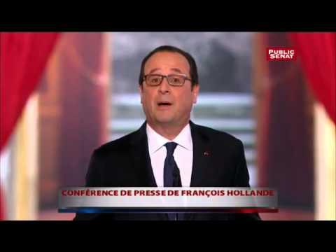 Conférence de presse : Hollande sur l'Ukraine,