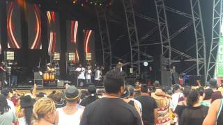 One love festival 2016 Three Houses down intro Tauranga New Zealand
