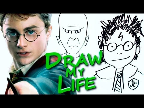 Thumbnail: DRAW MY LIFE - Harry Potter