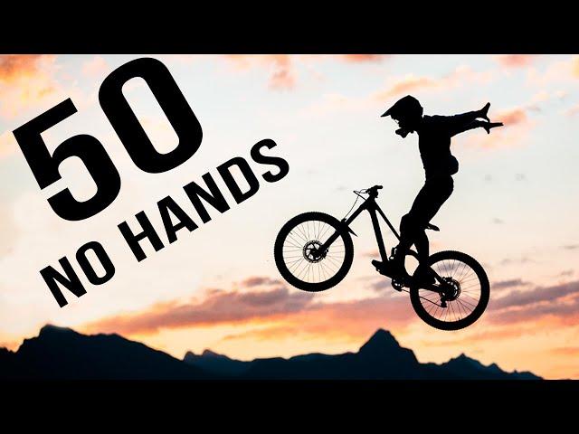 50 No Hands in ONE RUN!! WORLD RECORD??