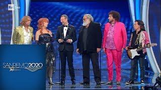 Sanremo 2020 - Il cast del film 'La mia banda suona il pop'