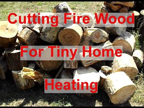 Cutting Fire Wood ~ New Wood Stove ~ Gifts Arrived & More