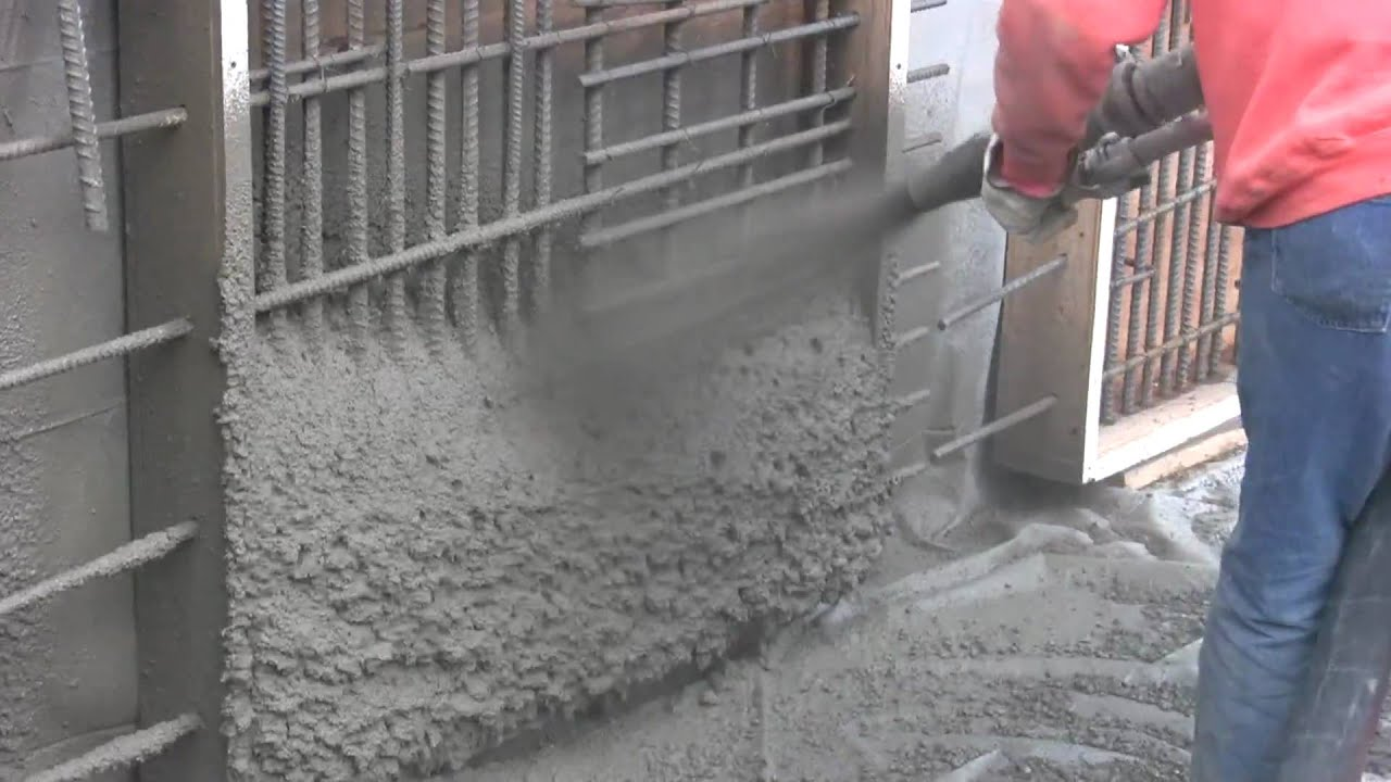 Shotcrete 101 Youtube