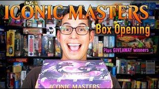 mtg iconic masters box opening