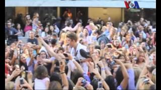 Kim Kadarshian-Kanye West dan Justin Bieber - VOA Pop News