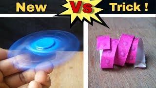 Fidget spinner Vs Roll caps | Never seen before