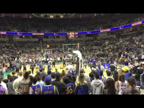 GoldenStateWarriors VS Sacramento Kings 2016