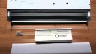 Quorum Fluorescent Under Cabinet Kitchen & Closet Lamp Fixture
