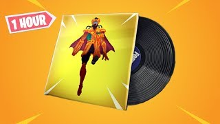 NEW DEFAULT FIRE (MAJOR LAZER) FORTNITE MUSIC PACK - 1 HOUR