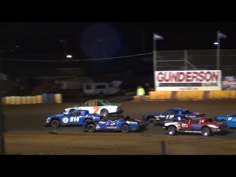 Street Stock Feature @ Sunset Speedway 2017